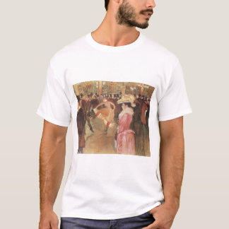 Ball at the Nightclub by Toulouse Lautrec T-Shirt
