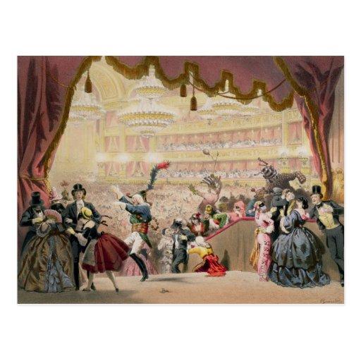 Ball at the Opera Postcard