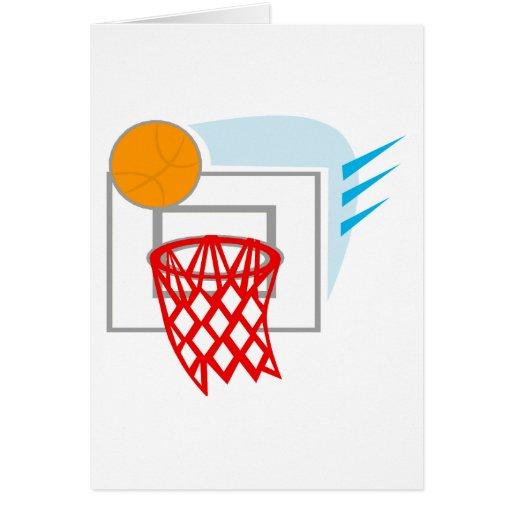 Ball & Backboard Greeting Card