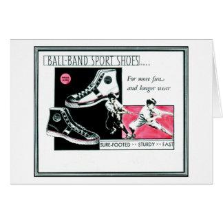 Ball Band Sport Shoes from Mishawaka, Indiana Card