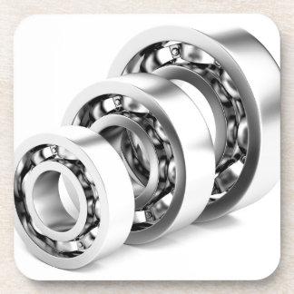 Ball bearings beverage coaster