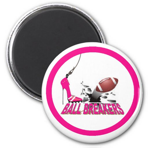 BALL BREAKERS 2 INCH ROUND MAGNET