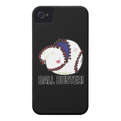 Ball Buster iPhone 4 Case-Mate Cases