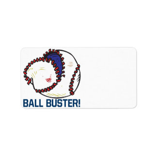 Ball Buster Label
