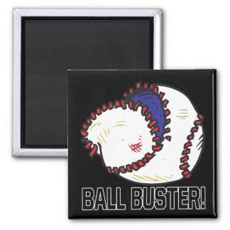 Ball Buster 2 Inch Square Magnet