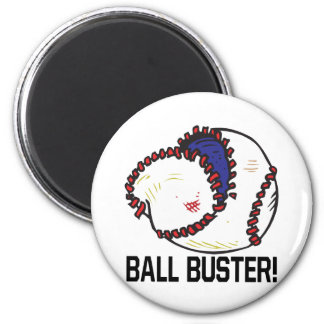 Ball Buster 2 Inch Round Magnet