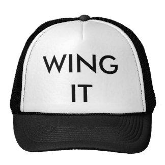 Ball Cap - WING IT Trucker Hat