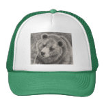 Ball Cap with Bear Design Trucker Hat