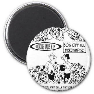 Ball Cartoon 6241 Magnet