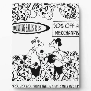 Ball Cartoon 6241 Plaque