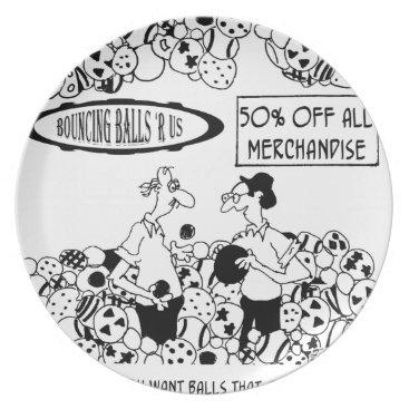 Ball Cartoon 6241 Plate