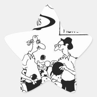 Ball Cartoon 6241 Star Sticker