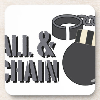 Ball & Chain Drink Coaster