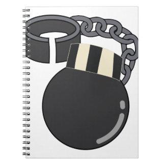 Ball & Chain Notebook