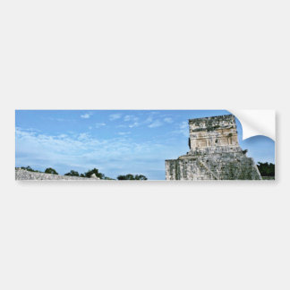 Ball Court And Temple Of The Jaguars, Chichen Itza Bumper Stickers