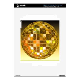 Ball Disco Ball Jump Dance Light Party Disco Skin For iPad 3