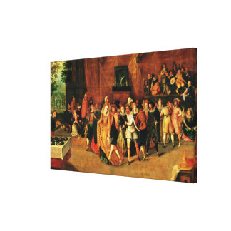 Ball during the Reign of Henri III, 1574-1623 Canvas Print