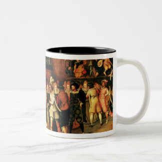 Ball during the Reign of Henri III, 1574-1623 Two-Tone Coffee Mug