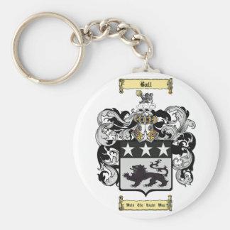 Ball (English) Basic Round Button Keychain