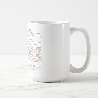 Ball (English(meaning)) Classic White Coffee Mug