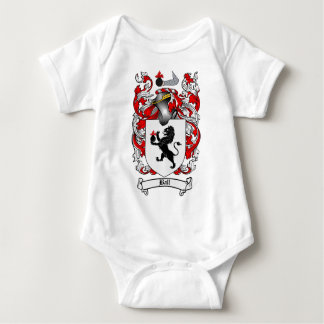 BALL FAMILY CREST -  BALL COAT OF ARMS BABY BODYSUIT