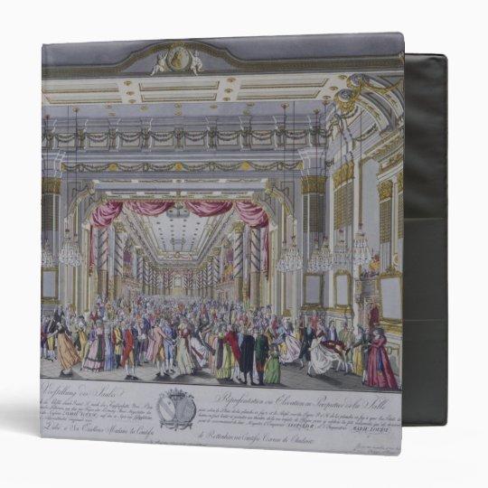 Ball following the coronation of Leopold Binder