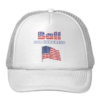 Ball for Congress Patriotic American Flag Mesh Hats