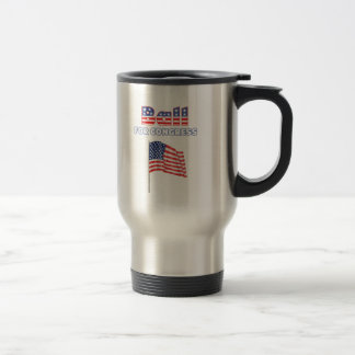 Ball for Congress Patriotic American Flag Mugs