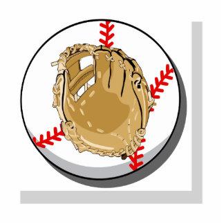 Ball & Glove Logo Statuette