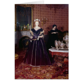 Ball gown of Mary Todd Lincoln Greeting Card