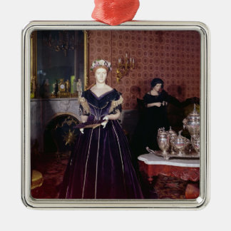 Ball gown of Mary Todd Lincoln Metal Ornament