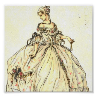 Ball Gown Poster