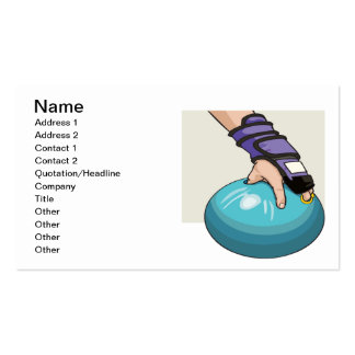 Ball Handler Double-Sided Standard Business Cards (Pack Of 100)