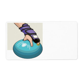 Ball Handler Label