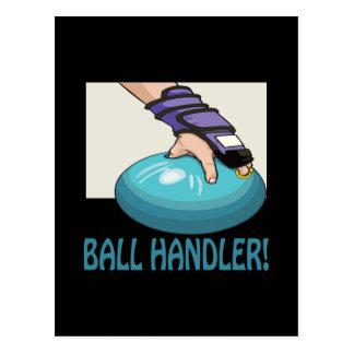 Ball Handler Postcard