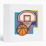 Ball & Hoop 3 Ring Binder