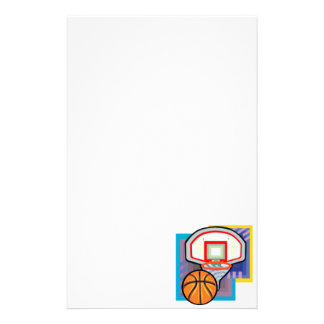 Ball & Hoop Personalized Stationery