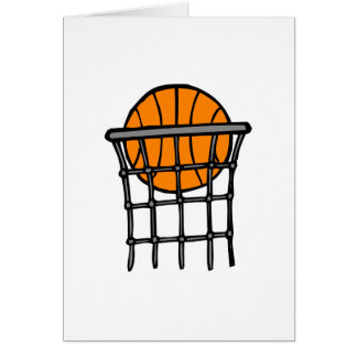 Ball in Basket Card