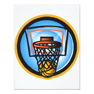 Ball in Basket Card