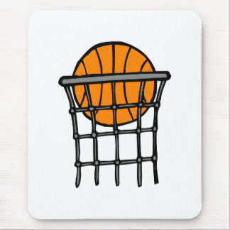 Ball in Basket Mouse Pad