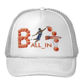 ¡BALL_IN! Casquillo Gorros