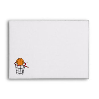 Ball in old metal basket envelope