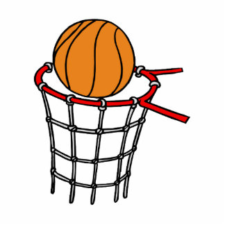 Ball in old metal basket acrylic cut outs