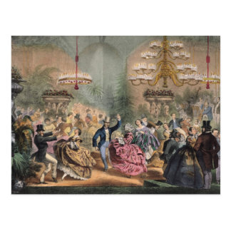Ball in the Jardin d'Hiver Postcard
