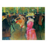 Ball in the Rouge by Toulouse-Lautrec Posters