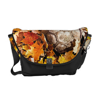 ball in the woods messenger bags