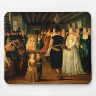 Ball in Venice in Honour of Foreign Visitors Mouse Pad