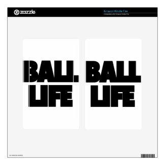 Ball Life Kindle Fire Skin
