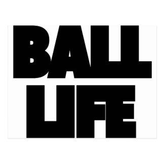 Ball Life Postcard