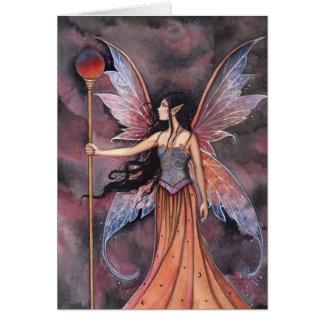 Ball of Fire Fairy Card